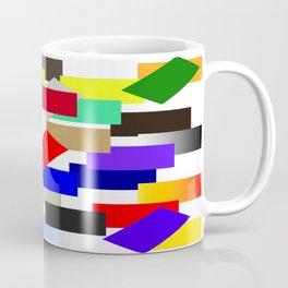 einfach farbig   (A7 B0054) Coffee Mug