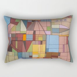 Postals from Babel Rectangular Pillow
