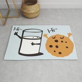 Hi Hi milk and cookie Rug