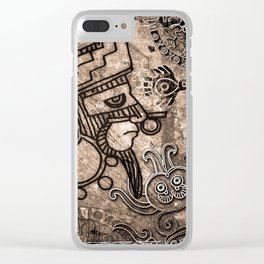 Ancient Mexico2 Clear iPhone Case