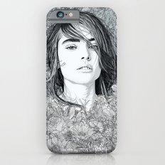 White Moon Garden iPhone 6s Slim Case