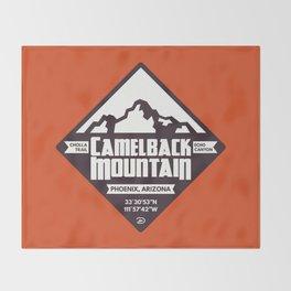 Camelback Mountain Throw Blanket