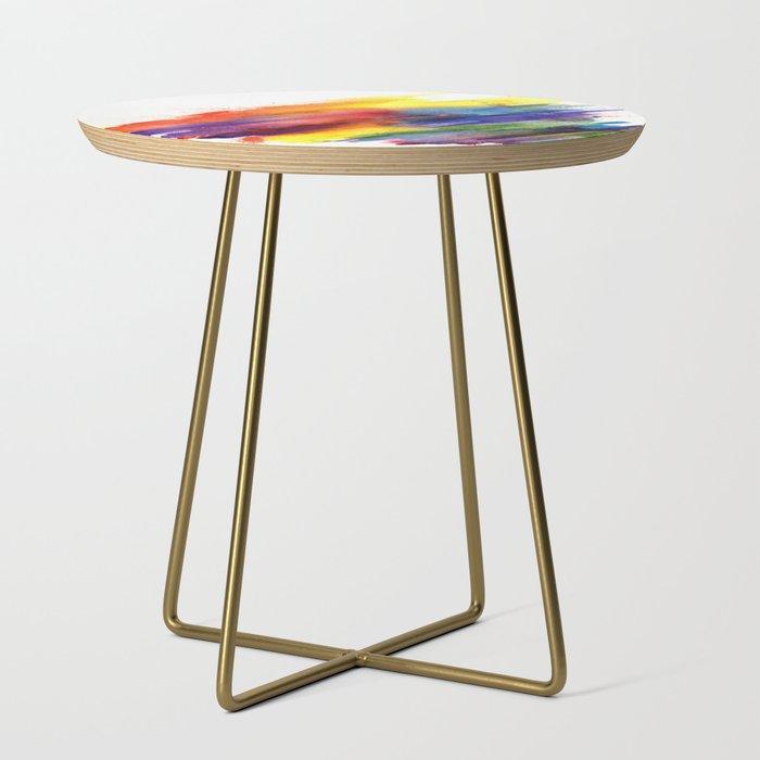 Rainbow End Table