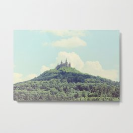Hilltop Castle Metal Print
