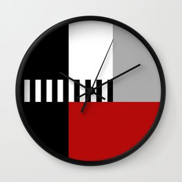 Geometric pattern 4 Wall Clock