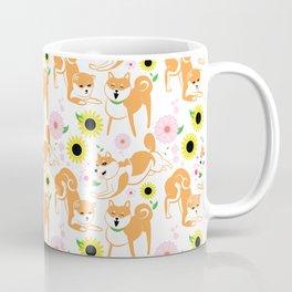 Spring Shiba Coffee Mug