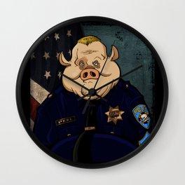 Officer Peel, Public Servant Wall Clock