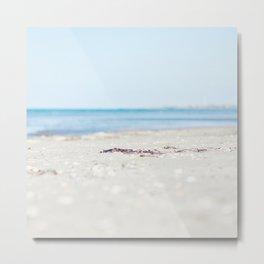 By beach Metal Print