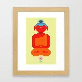 Calm Amitabha Framed Art Print