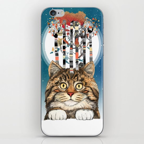Feline Forest iPhone & iPod Skin