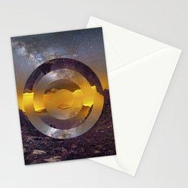 CIRCULAR LANDSCAPE Stationery Cards