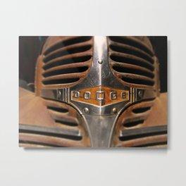 Vintage Dodge Truck Grill Metal Print
