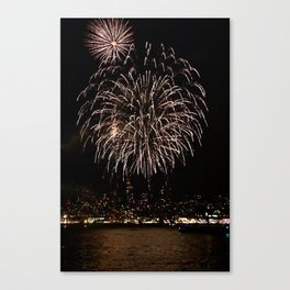 LIGHT UP THE SAN FRANCISCO BAY Canvas Print