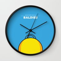 homer Wall Clocks featuring Homer Simpson by Mr. Peruca