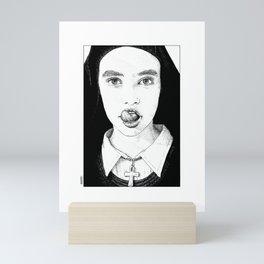 asc 228 - La Pureté (Purity is for madmen to make fools of us all) Mini Art Print