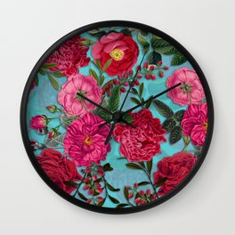 Vintage & Shabby Chic - Summer Tropical Garden I Wall Clock