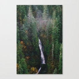 Vance Creek Waterfall Canvas Print