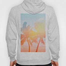 Tropicana seas - sundown Hoody
