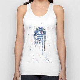 R2-D2 Splatter Unisex Tank Top