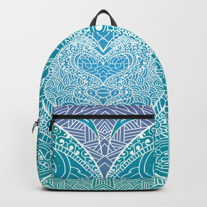 Butterfly mandala Backpack
