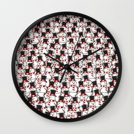No Business Like Snow Business Wall Clock