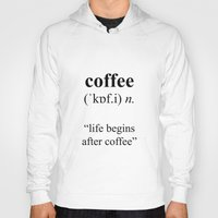 coffee Hoodies featuring Coffee by cafelab
