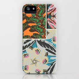 Art Deco Butterfly Print by E.A. Seguy, 1925 #8 iPhone Case