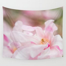 Magnolia In Blush Wall Tapestry