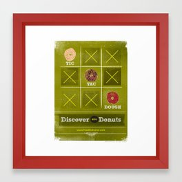 Tic, Tac, Dough Framed Art Print