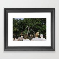 Viewers Framed Art Print