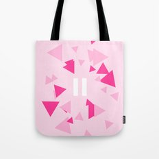 Opposite III Pause Pink Tote Bag
