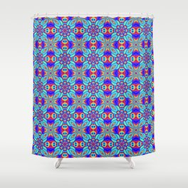 Eyes in the Forest Shower Curtain