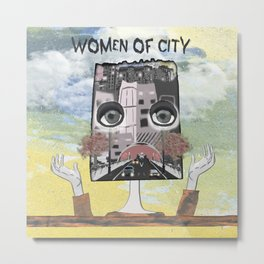 Women of City Colours Metal Print