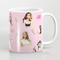 ultraviolence Mugs featuring lanapattern by evenstarss