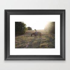 Dallas Field Framed Art Print