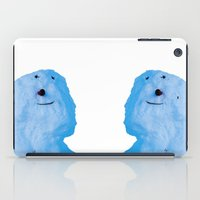 snowman iPad Cases featuring Snowman  by AstridJN