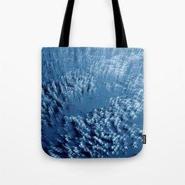 Dublin Bay Waves, Pooleg (Abstract Bokeh ICM Exposure) Tote Bag