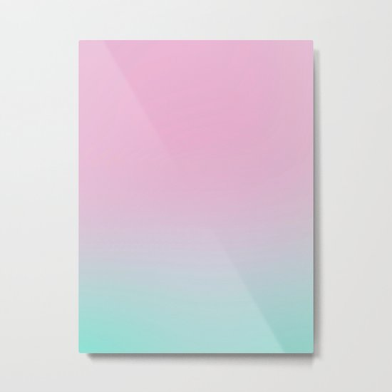 Sweet Candy Abstract Metal Print