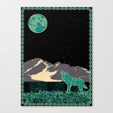Wolf 5 Canvas Print