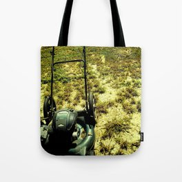 The Lawnmower Tote Bag