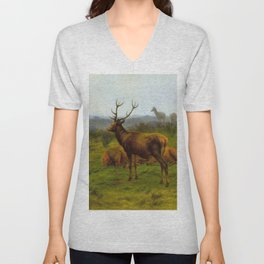 The Monarch Of The Herd - Digital Remastered Edition Unisex V-Neck