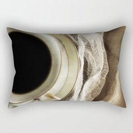 But First - Coffee! Rectangular Pillow
