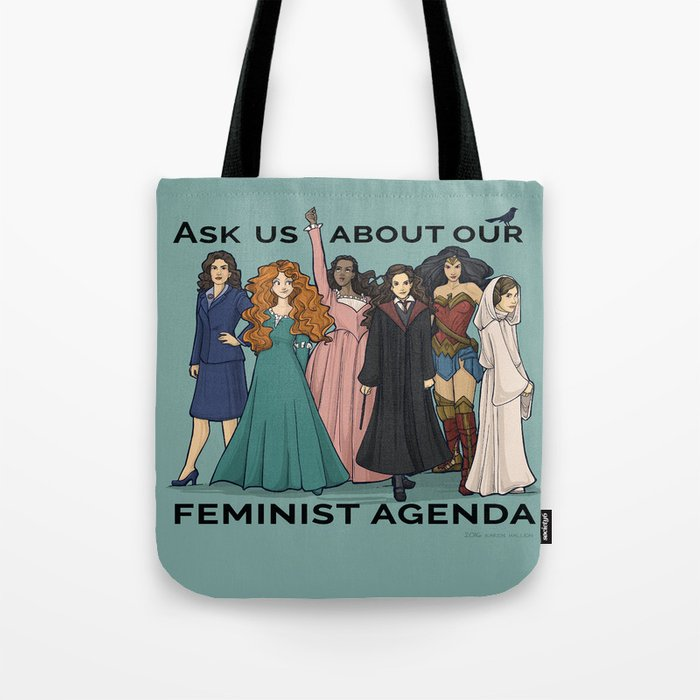 Feminist Agenda Tote Bag