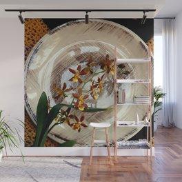 A Brushstroke Of Orchid Genus Wall Mural