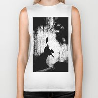 theatre Biker Tanks featuring Shadow theatre 2 by Alfani Photography