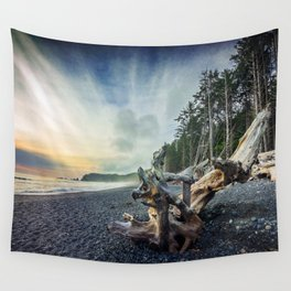 Approaching Mist Wall Tapestry