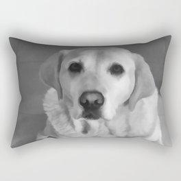 Cookies PLEASE! B&W Rectangular Pillow