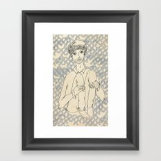 Brian Framed Art Print