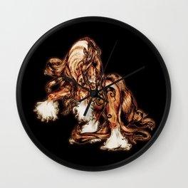 Stallion Swagger Wall Clock