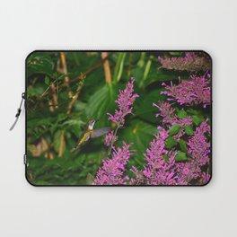 Hummingbird and agastache flower 60 Laptop Sleeve